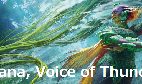 Tishana, Voice of Thunder-top