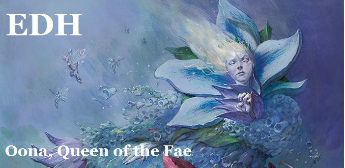 【EDH・統率者】妖精の女王、ウーナ-フェアリー帝国の逆襲-【デッキ紹介】