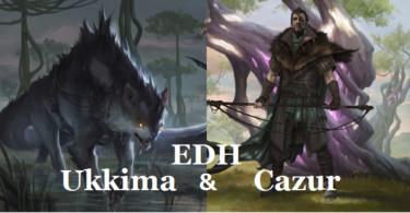 【EDH】無情な追跡者、カズル&追跡する影、ウキーマ-シェフの絶品鯨づくし-【統率者】