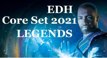 【EDH】基本セット2021・伝説のクリーチャー一覧【統率者】