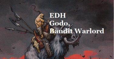 【EDH・統率者】山賊の頭、伍堂-GODOを待ちながら-【デッキリスト】